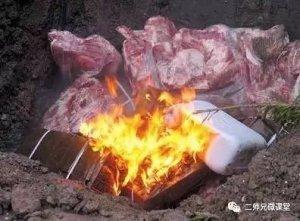 严打!重庆查获销毁22.2吨变质进口冻猪肉