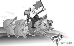 """政府对进口猪肉的态度如何?""""大量进口猪"""