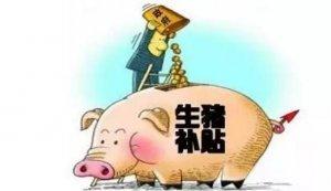 国家下发巨额养猪补贴,找哪些部门申请更