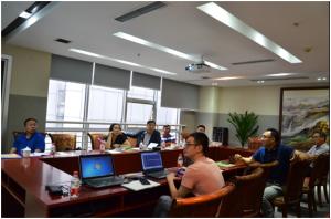 经验交流 寻求合作――河南广安集团到天兆猪业参观考察