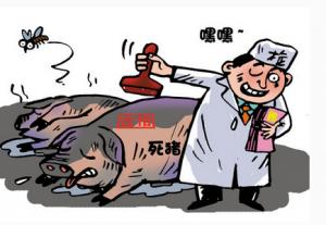 病猪胴体上盖合格印章 检疫员徇私舞弊获拘役