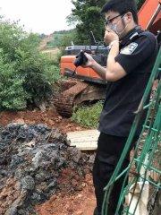恐怖!!!浙江大银山挖出800吨偷埋病死猪 多名嫌犯被刑拘