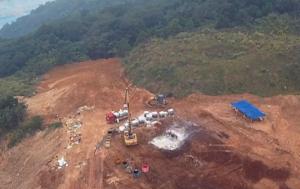 大银山续:3处病死猪掩埋点 挖223.5吨污物