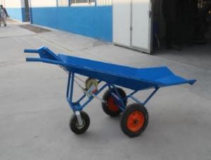 见过料车、粪车,你见过一个人能搬动400斤猪的斗车吗