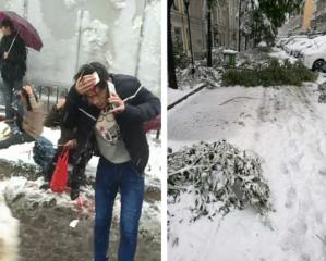 强雨雪天气已经导致人员伤亡,大家千万小心!