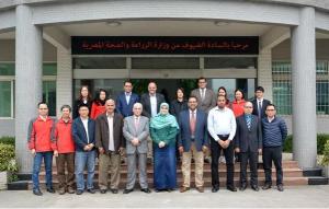 正典生物球虫疫苗车间顺利通过埃及农业部现场审核