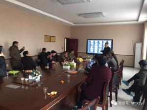 益阳祥云山村民代表参观考察天心种业