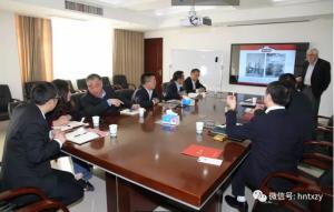 美国华多育种公司总裁一行访问湖南天心种