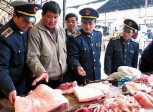 北京食药监检出一批次不合格猪肉