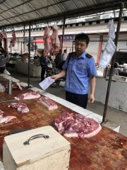 四川:西充县开展猪肉市场专项检查