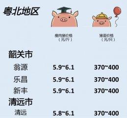 猪价 | 7月5日 广东生猪行情动态一览!
