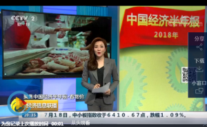 央视:猪肉价格反弹明显