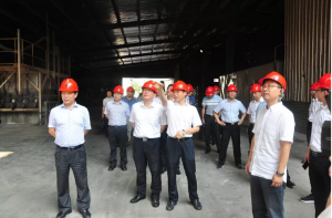 江西省副省长胡强:把双胞胎集团打造成服