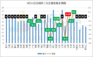 9月11日:同猪不同命! 四川猪价攀升至第二 辽宁陷低价泥潭