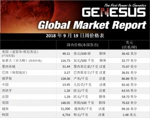 中国市场报告,2018年9月