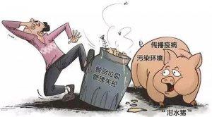 重要通知:吉林省严禁泔水喂猪
