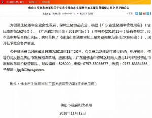 广东佛山:生猪屠宰加工费拟提至55元/头