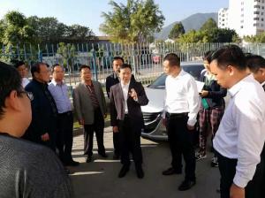 广东清远市长到双汇检查非洲猪瘟防控工作