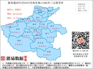 猪易通app19年3月4日河南猪价走势-快速上涨