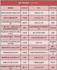 敲黑板!丨中国兽医协会第八届兽医大会课程表(部分)新鲜出炉~