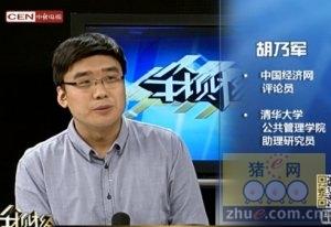 胡乃军:猪肉价格五六月份会回升
