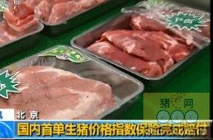 国内首单生猪价格指数保险完成赔付