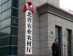 湖北省农业农村厅正式挂牌!