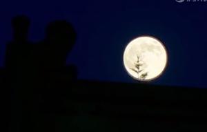 """今年元宵节""""满月""""邂逅""""超级月亮"""" 十五的月亮十五圆!"""