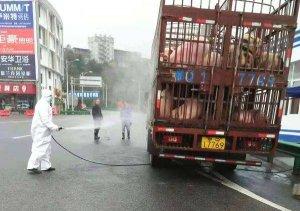 """""""活猪运输车辆""""的清洗消毒这样做才安全"""