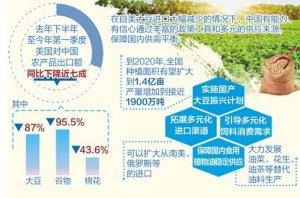 美新一轮加征关税,农业农村部:有能力有信心保障重要农产品供给