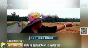 怕扬尘,70亩小麦必须手动收割?官方:相关部门做法错误,将问责