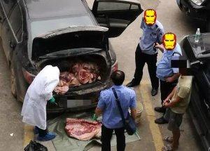 梧州:私自销售屠宰病死猪 三名男子被批捕