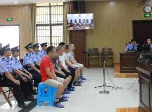 从越南走私上千吨冻肉入境!广西5名被告人出庭受审